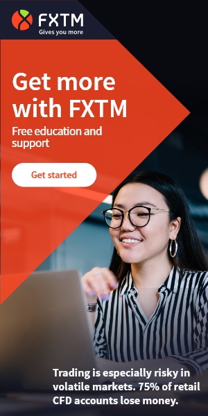 FXTM Free Education and Support Ad